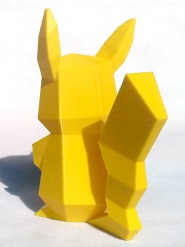 Pokémon Pikachu Geométrico