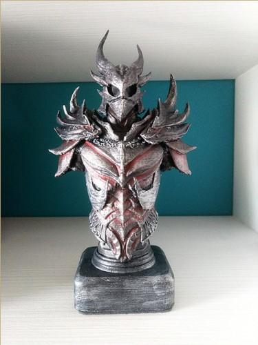 Skyrim - Daedric Busto Armadura