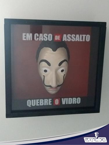 """Quadro """"La Casa de Papel"""""""