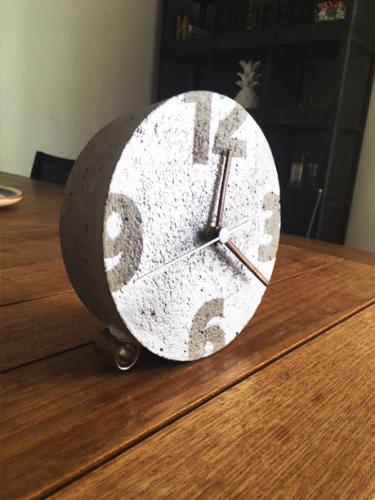 Relógio de Concreto
