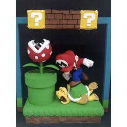 Diorama Super Mario Bros - 30cm