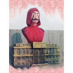 Busto La Casa de Papel