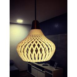 Luminária de teto 3d