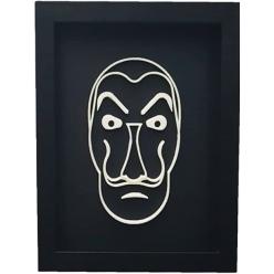 Quadro Mascara 3D Salvador Dali