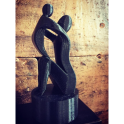 Escultura Mãe & Filho
