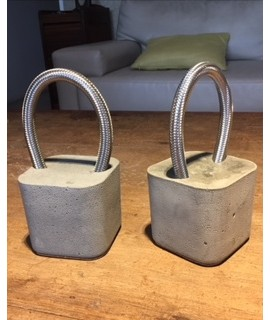 Peso de Porta Aço Trançado