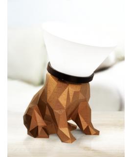 Luminária Bulldog 3d