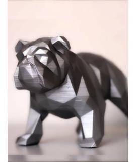 Bulldog Inglês Geométrico