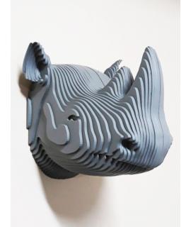 Escultura de parede - Rinoceronte