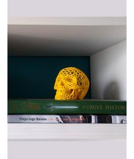 Caveira - Estilo Voronoi