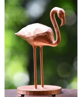 Flamingo geométrico 3D
