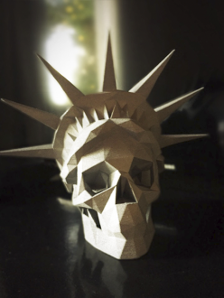 Skull Statue of Liberty