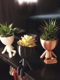 Trio de Vasos ( Sentados )