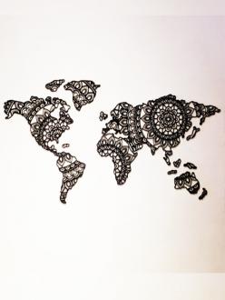 Mapa Mundi Mandala